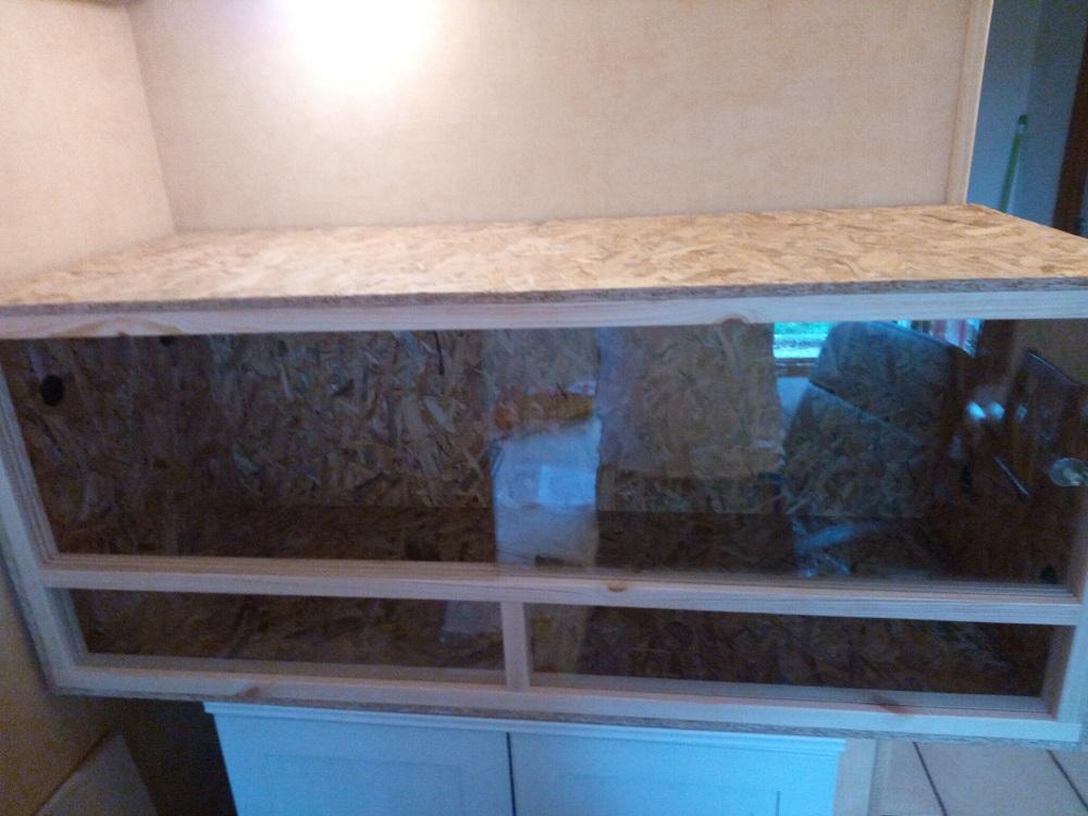terrarium fait maison pour tortue ventana blog. Black Bedroom Furniture Sets. Home Design Ideas